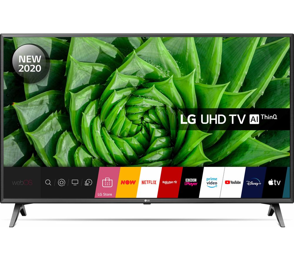 "LG 50UN80006LC 50"" Smart 4K Ultra HD HDR LED TV with Google Assistant & Amazon Alexa"