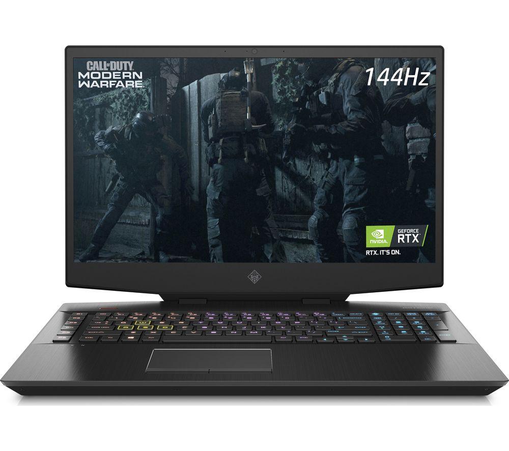 "HP OMEN 17.3"" Gaming Laptop - Intel® Core™ i7, RTX 2060, 1 TB HDD & 512 GB SSD"