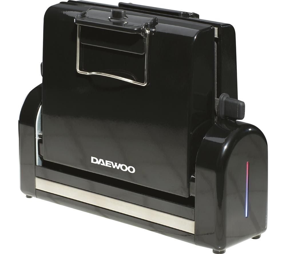 DAEWOO SDA1559 Bacon Master Compact Grill - Black, Black