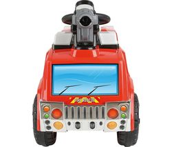 Bubble Fire Rescue TY5801 Electric Ride On Toy - Red