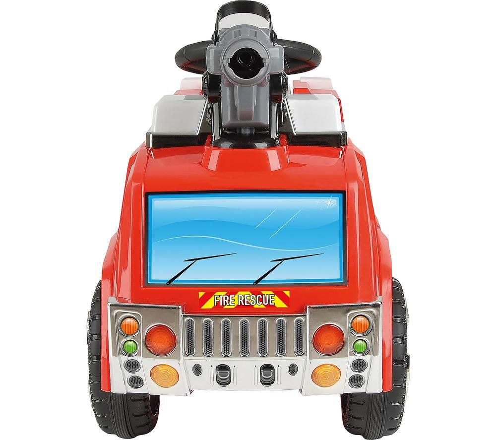 TOYRIFIC Bubble Fire Rescue TY5801 Electric Ride On Toy - Red