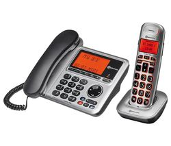 BigTel 1480 Corded Phone & Cordless Extension Handset