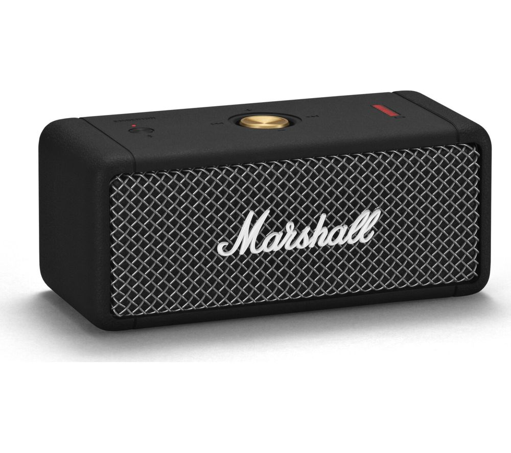 MARSHALL Emberton Portable Bluetooth Speaker - Black, Black