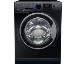 RDG 9643 KS UK N 9 kg Washer Dryer - Black