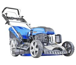 HYM510SPE Cordless Rotary Lawn Mower - Blue