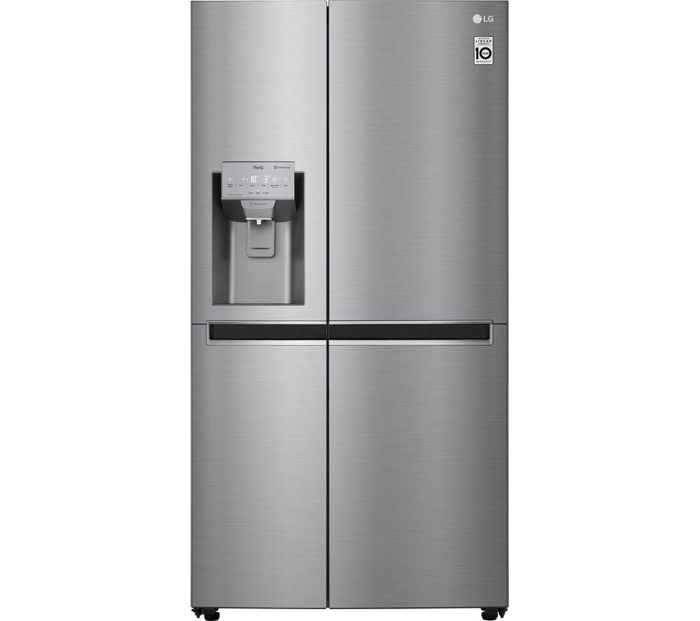 LG GSL960PZJV American-Style Smart Fridge Freezer - Steel