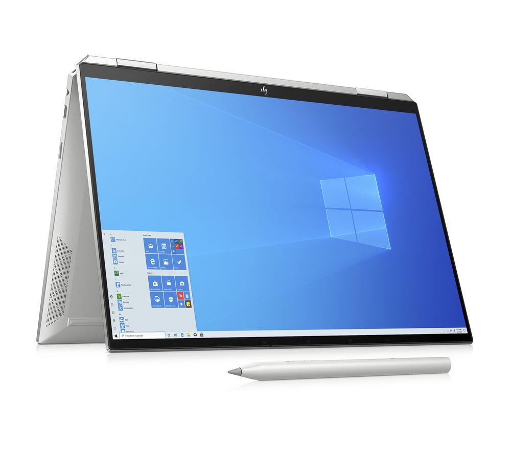 "Image of HP Spectre x360 13.5"" 2 in 1 Laptop - Intel®Core™ i7, 512 GB SSD, Silver, Silver"