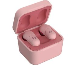 FUNK 35 KSFUN35PI Wireless Bluetooth Earphones - Pink