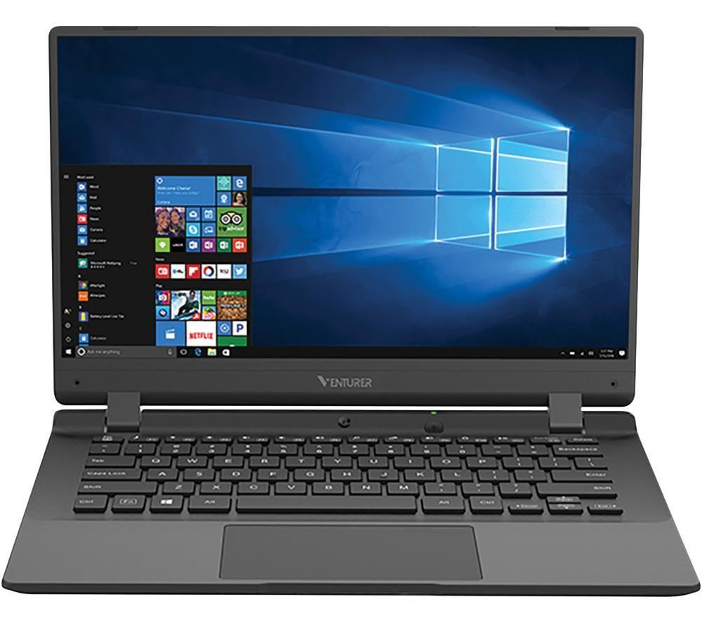 "VENTURER Europa 14 LT 14"" Laptop - Intel® Celeron™, 64 GB SSD, Black"