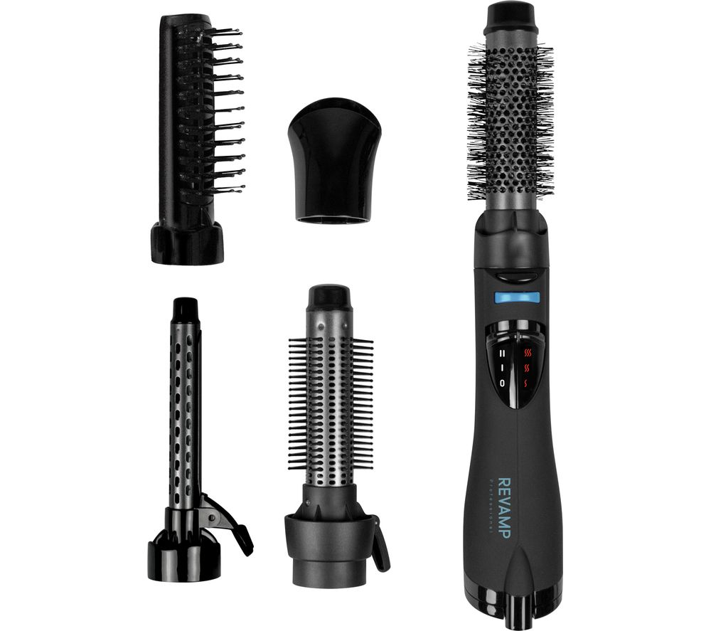REVAMP Progloss Airstyle DR-1200 Hair Styling Set - Black