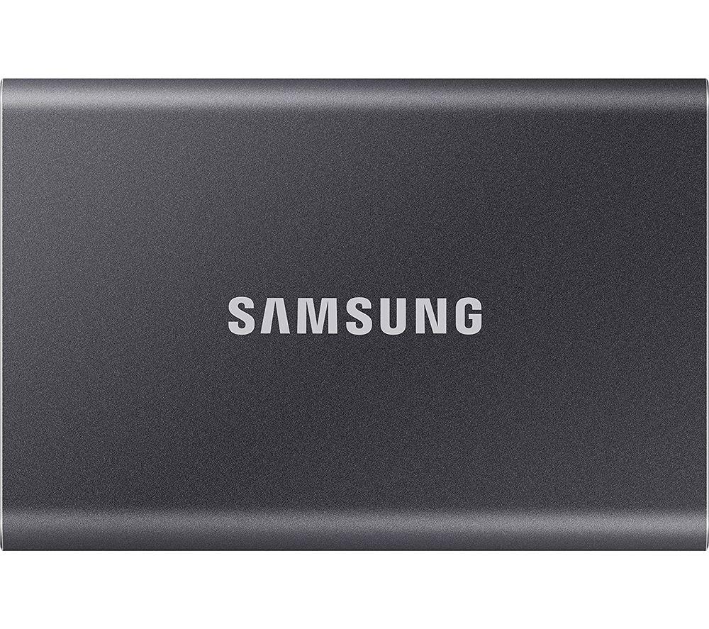 SAMSUNG T7 Portable External SSD - 2 TB, Grey
