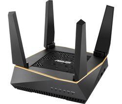RT-AX92U WiFi Cable & Fibre Router - AX 6100, Tri-band