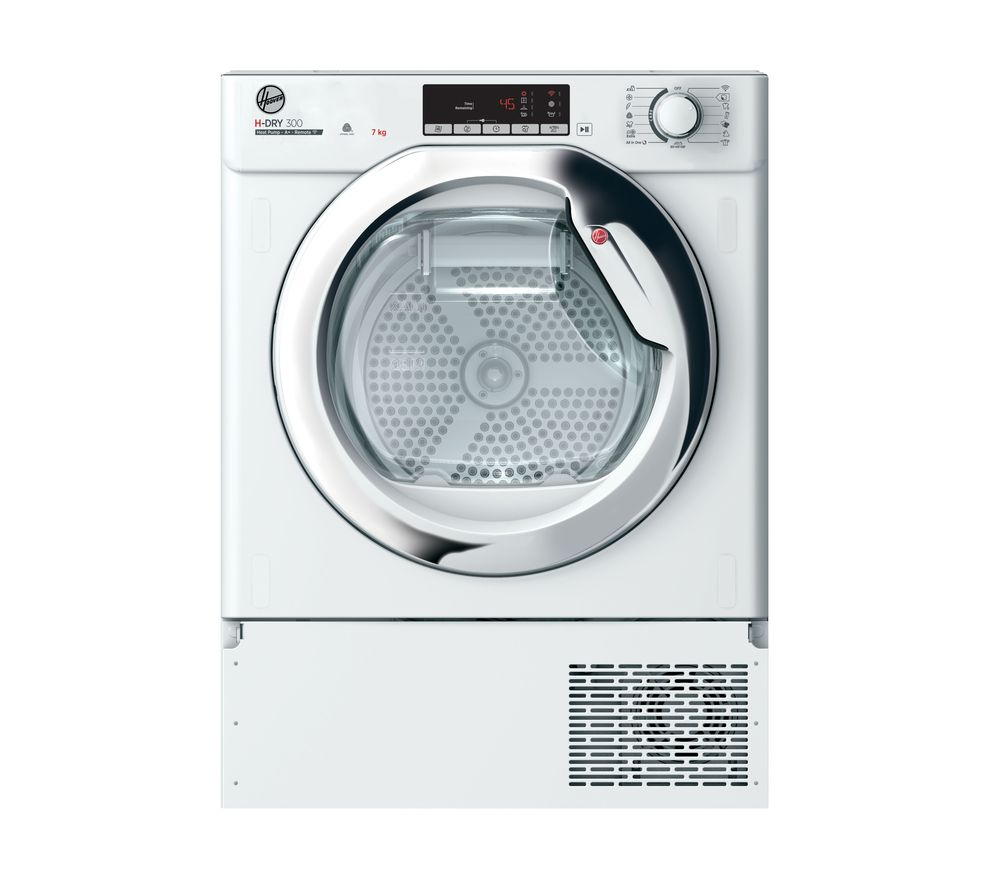 HOOVER BHTDH7A1TCE WiFi-enabled Integrated 7 kg Tumble Dryer