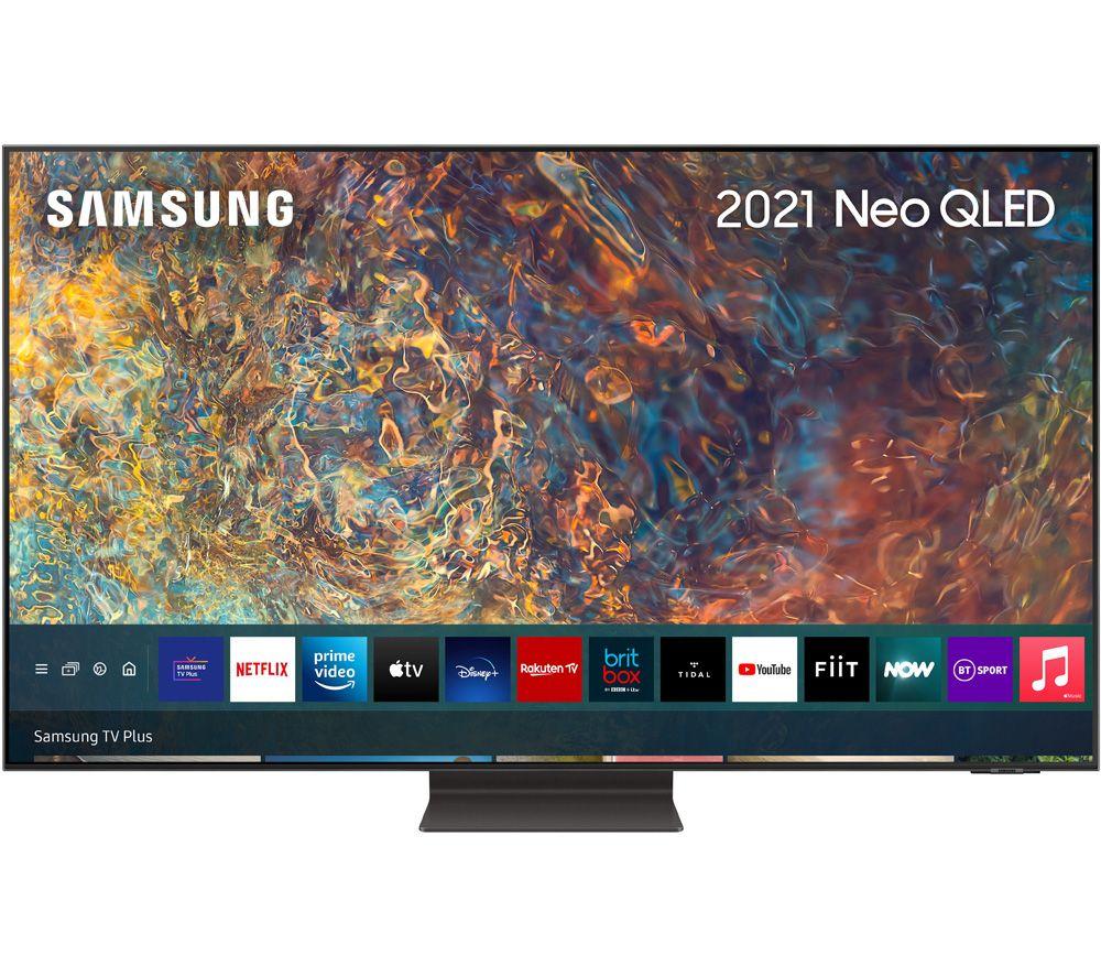 "SAMSUNG QE55QN95AATXXU 55"" Smart 4K Ultra HD HDR Neo QLED TV with Bixby, Alexa & Google Assistant"