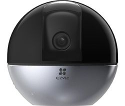 C6W 2K WiFi Security Camera - Black & Silver