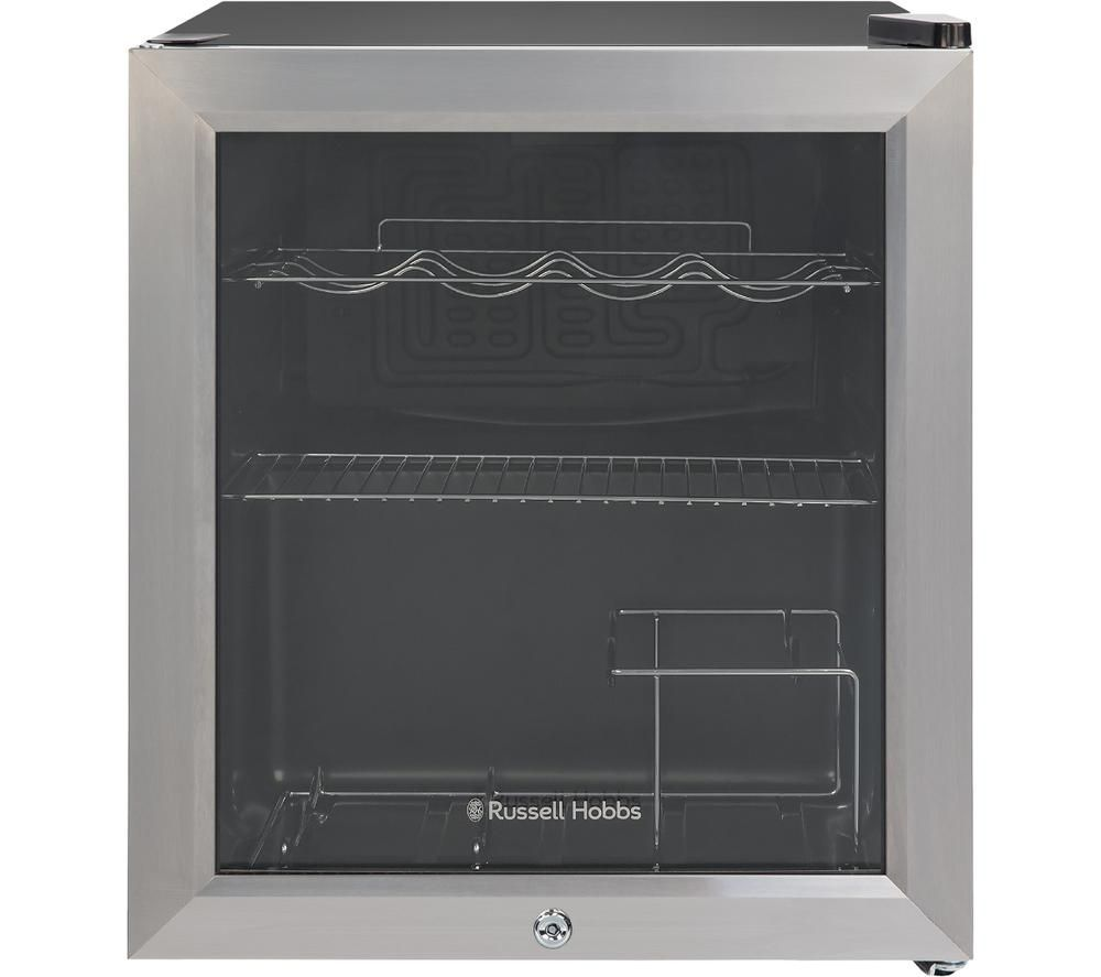 RUSSELL HOBBS RHGWC3SS-C-LCK Wine & Drinks Cooler - Stainless Steel, Stainless Steel