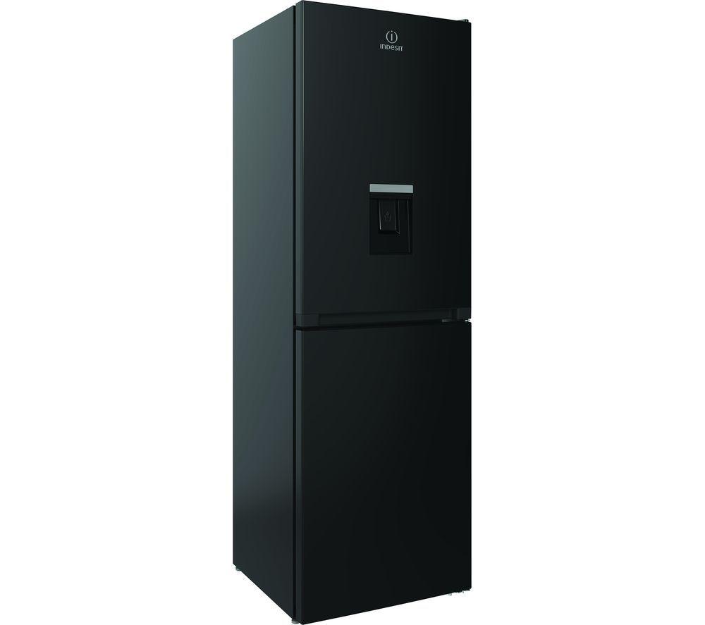 INDESIT INFC8 50TI1 K AQUA 1 50/50 Fridge Freezer - Black, Aqua