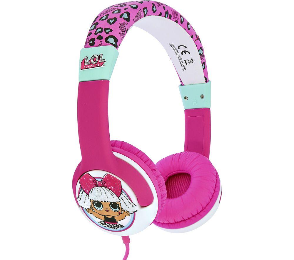 OTL LOL763 Kids Headphones - Pink