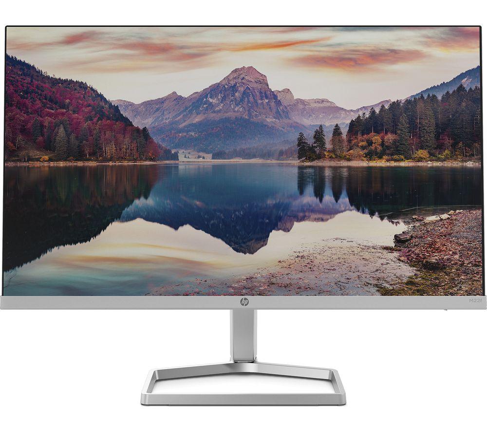 """HP M22f Full HD 21.5"""" IPS LCD Monitor - Black & Silver"""