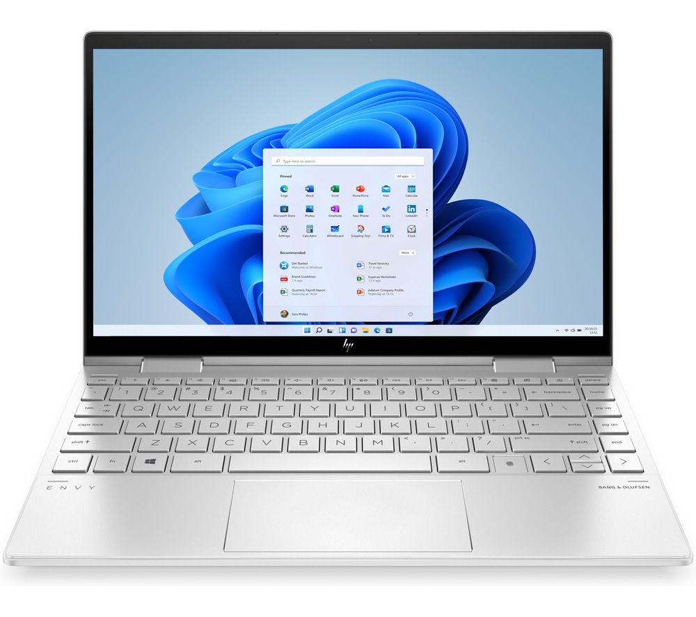 """Image of HP ENVY x360 Convert 13.3"""" 2 in 1 Laptop - Intel®Core™ i7, 512 GB SSD, Silver, Silver"""