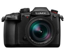 Lumix DC-GH5M2 Mirrorless Camera with Leica 12-60 mm f/2.8-4 Lens - Black
