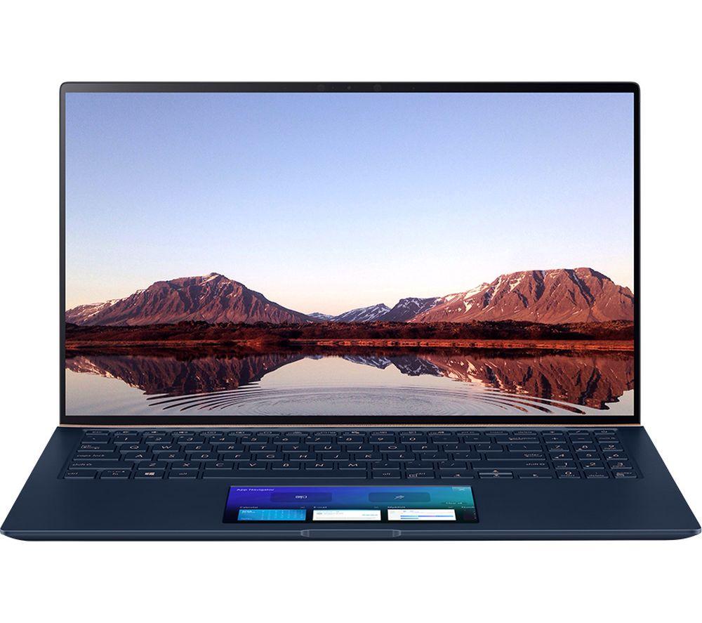 "Image of ASUS ZenBook 15 UX534FAC 15.6"" Laptop - Intel®Core™ i7, 512 GB SSD, Blue, Blue"