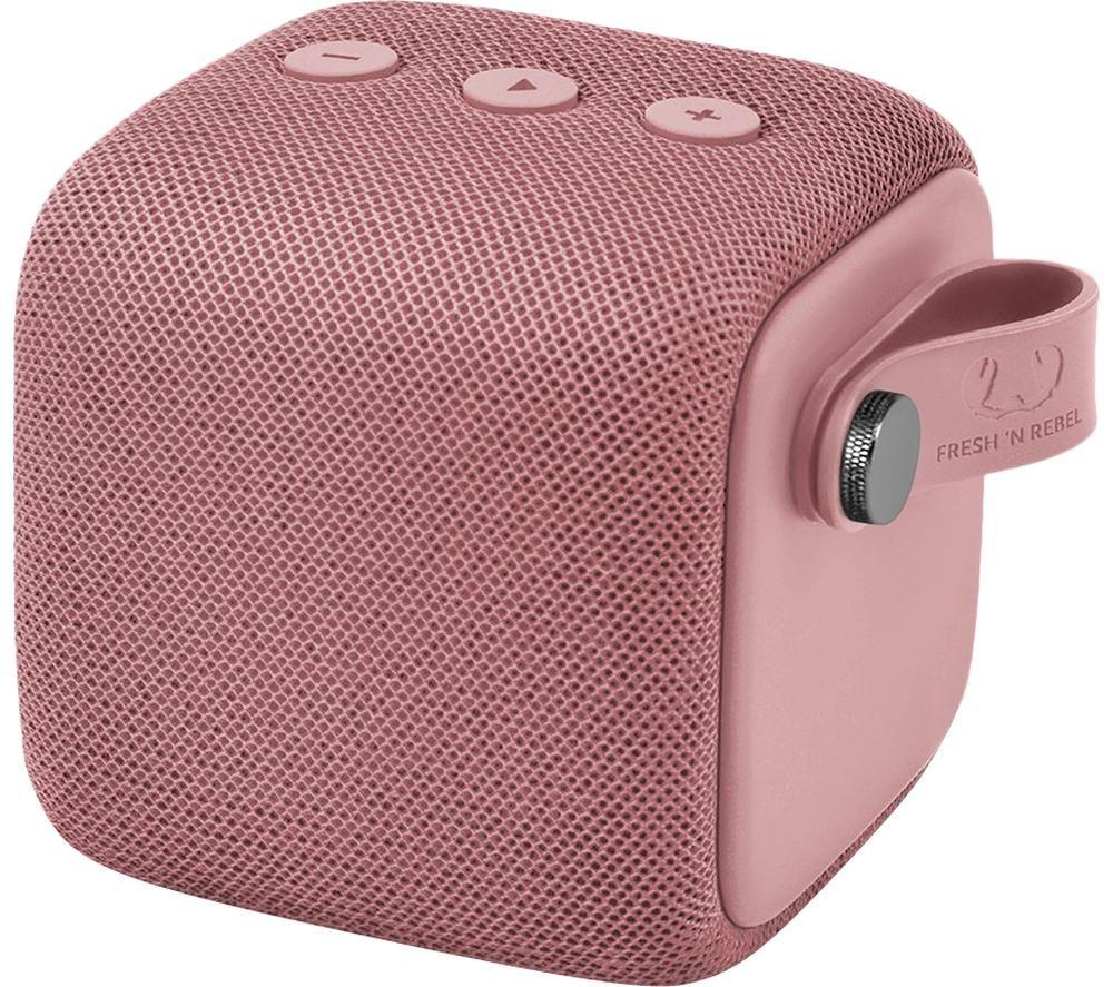 FRESH N REBEL Rockbox Bold S Portable Bluetooth Speaker - Dusty Pink