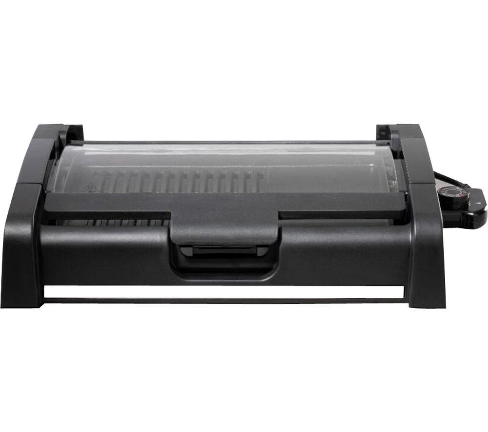 INNOTECK Kitchen Pro DS-5956 Grill - Black & Silver, Black