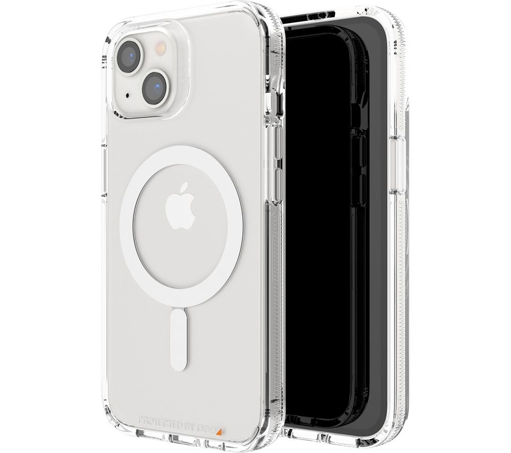 GEAR4 Crystal Palace iPhone 13 Case with MagSafe - Clear