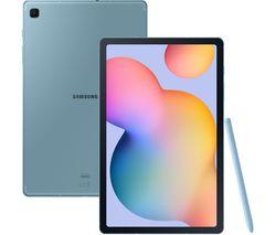 """Galaxy Tab S6 Lite 10.4"""" 4G Tablet- 64 GB, Angora Blue"""