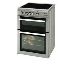 FLAVEL Milano ML61CDS Electric Ceramic Cooker - Silver & Chrome Best Price, Cheapest Prices