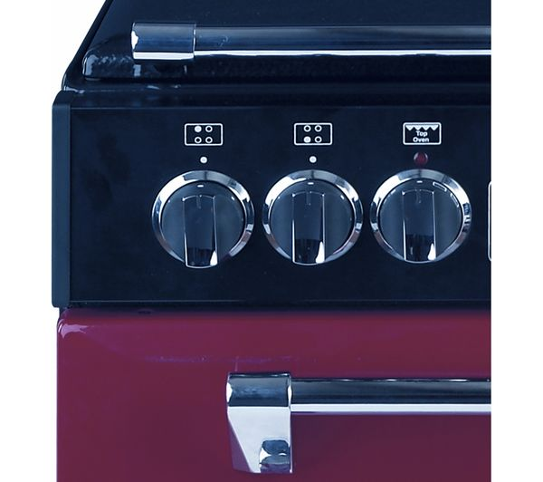 Buy Stoves 550e Mini Range Electric Cooker Red Free