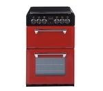 STOVES 550E Mini Range Electric Cooker - Red
