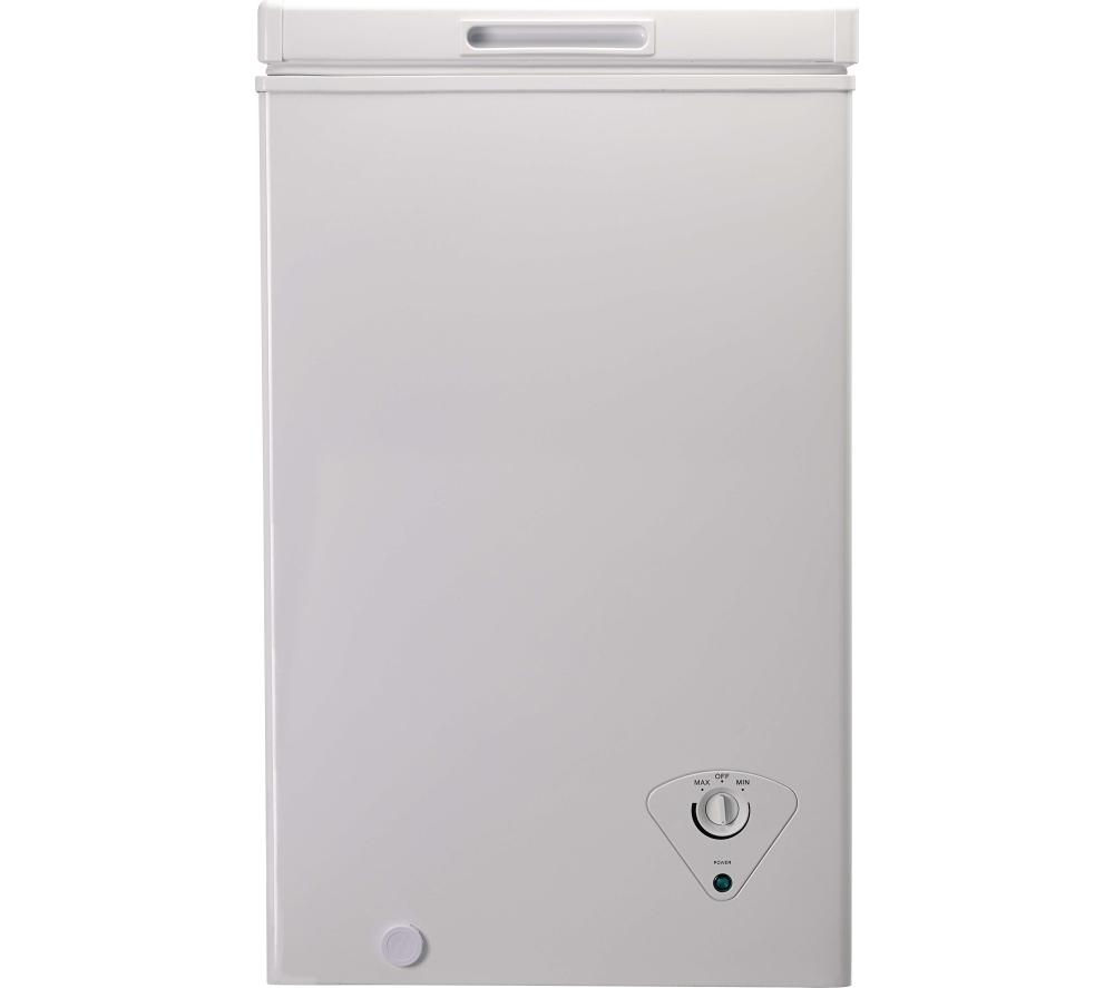 ESSENTIALS C61CF13 Chest Freezer - White + Select DSX83410W Heat Pump Tumble Dryer - White
