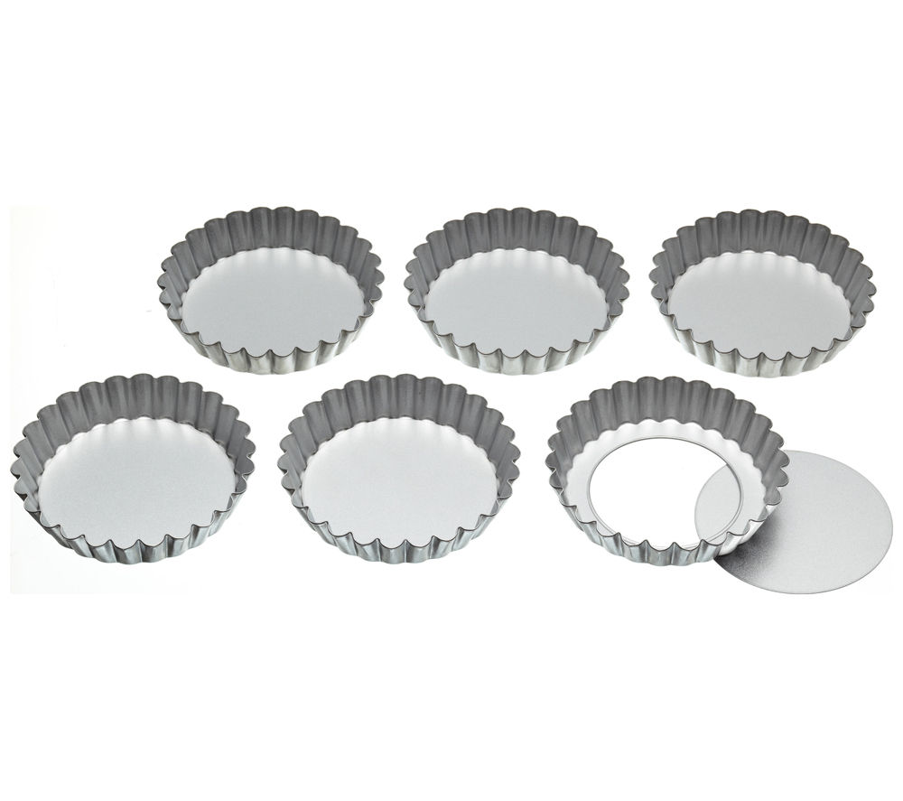 KITCHEN CRAFT Loose Base Tart Tins