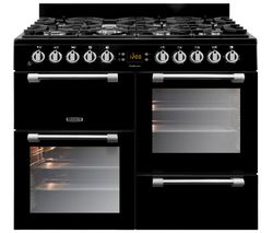 LEISURE Cookmaster CK100G232K 100 cm Gas Range Cooker - Black Best Price, Cheapest Prices
