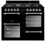 LEISURE Cookmaster 100 Gas Range Cooker - Black