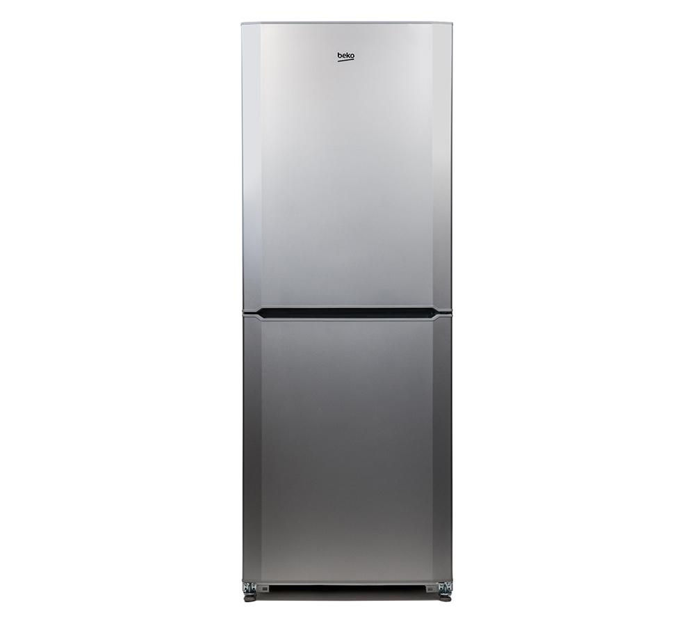 BEKO CFL7914S 50/50 Fridge Freezer - Matte Silver