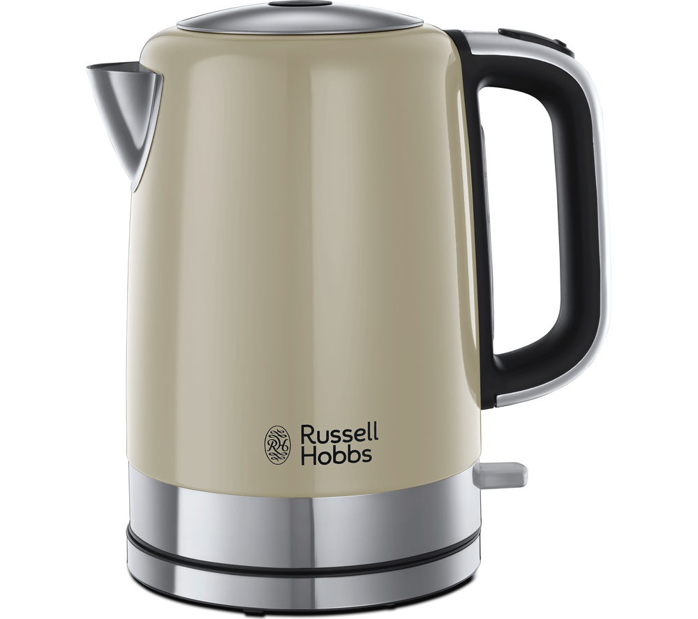 RUSSELL HOBBS Windsor 22820 Jug Kettle - Cream + Windsor 22830 4-Slice Toaster - Cream