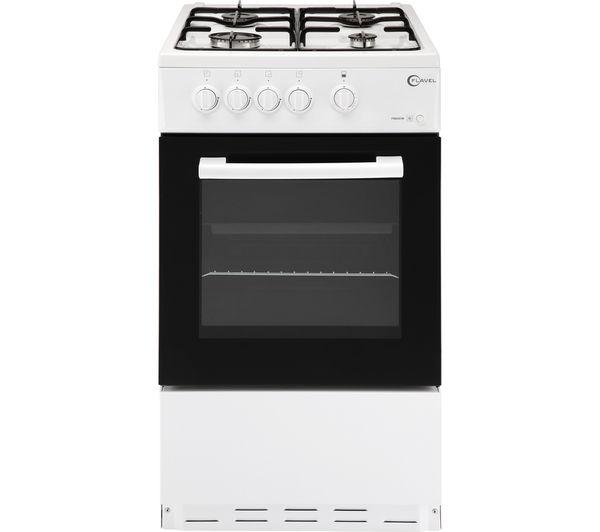 Image of FLAVEL FSBG51W 50cm Gas Cooker - White