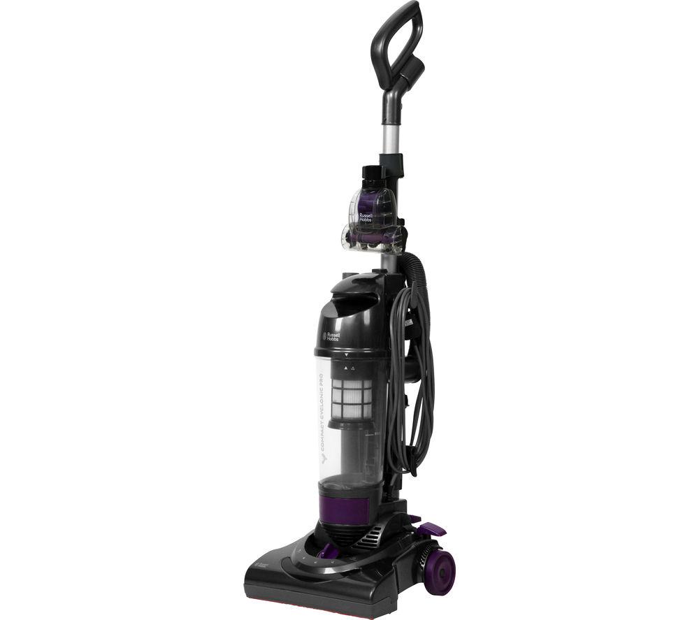 RUSSELL HOBBS RHUV2004 Upright Bagless Vacuum Cleaner – Gun Metal Grey
