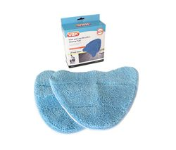 VAX Replacement Microfibre Steam Mop Pads - Pack of 2