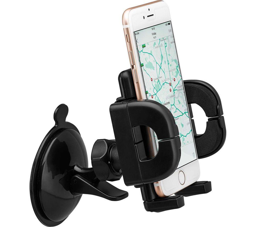 LOGIK LMUCARM16 Universal Smartphone Suction Mount