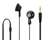 LOGIK Gelly LGELBLK16 Headphones - Black
