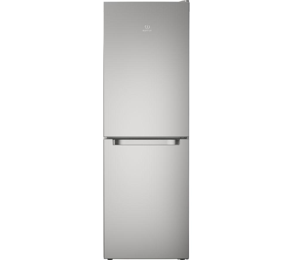 INDESIT LD70N1S Fridge Freezer - Silver