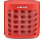 BOSE Soundlink Color II Portable Bluetooth Wireless Speaker - Red