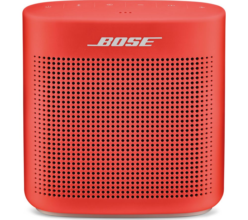 Image of BOSE Soundlink Color II Portable Bluetooth Wireless Speaker - Red, Red