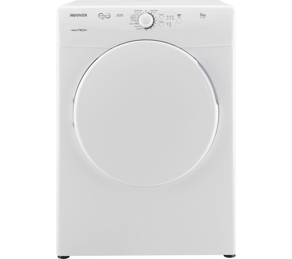 Image of HOOVER VTV 570NB Vented Tumble Dryer - White, White