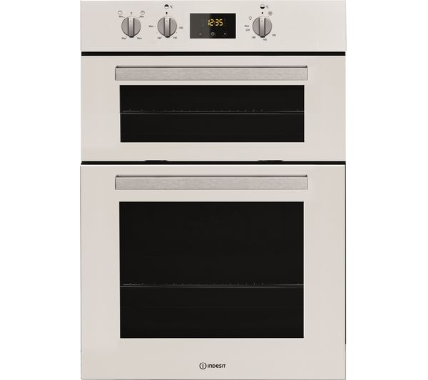Image of INDESIT Aria IDD 6340 WH Electric Double Oven - White