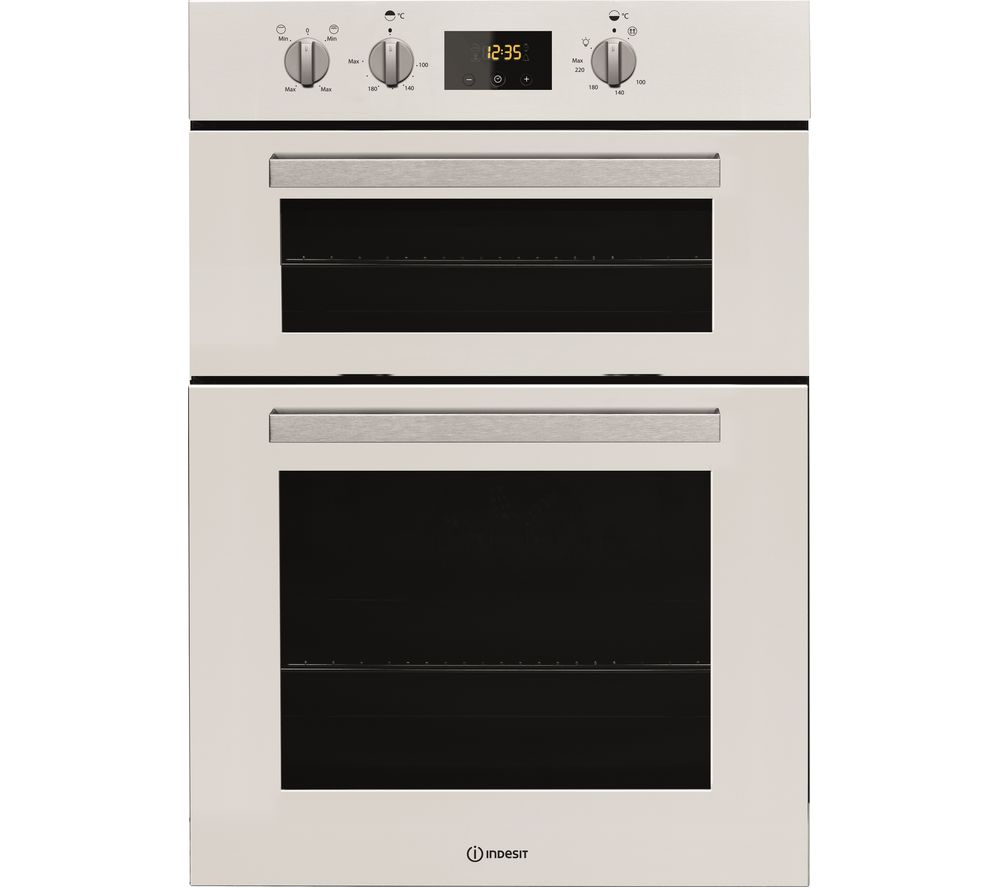 INDESIT Aria IDD 6340 WH Electric Double Oven - White